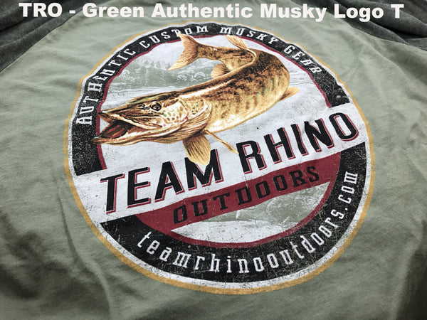 TRO - Long Sleeve Authentic Musky Green T Shirt