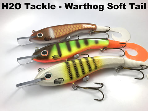 H2O Tackle Warthog Soft Tail