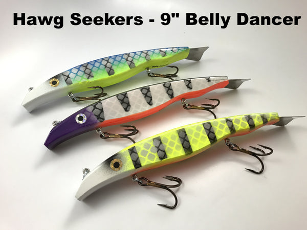 "Hawg Seekers Tackle 9"" Belly Dancer"