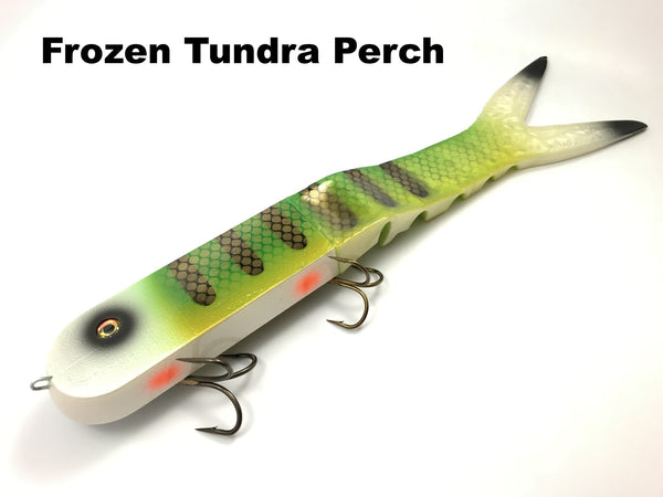 Musky Innovations Dyin' Dawg - Frozen Tundra Perch
