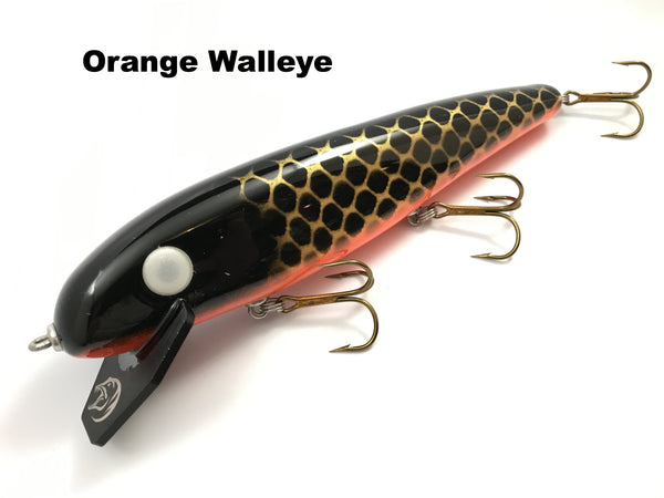 "Phantom Lures 10"" Hex - Orange Walleye"