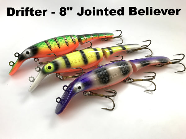 "Drifter Tackle 8"" Jointed Believer"