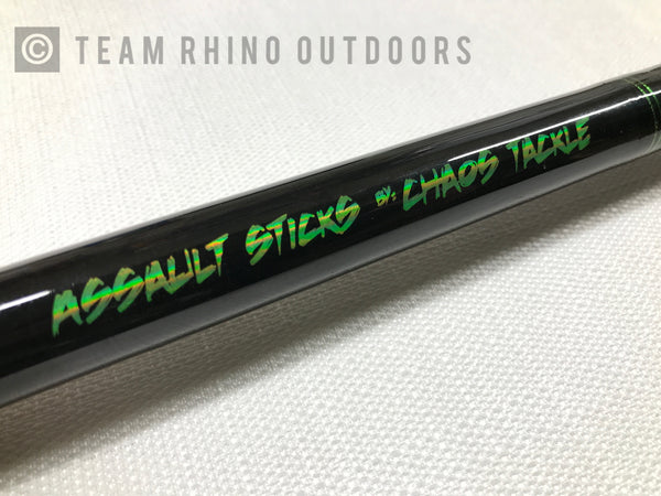 Chaos Tackle Assault Stick -Shock & Awe XX Heavy Power (9')