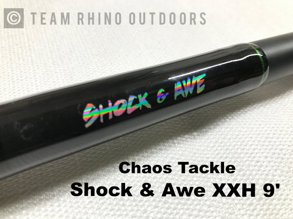 Chaos Tackle Assault Stick -Shock & Awe XX Heavy Power (9') - Shipping to WI, IL, MN, Iowa only.