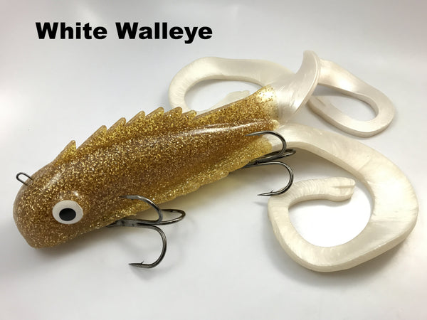 Chaos Tackle Monster Medussa - White Walleye