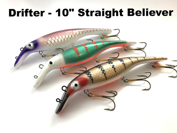 "Drifter Tackle 10"" Straight Believer"