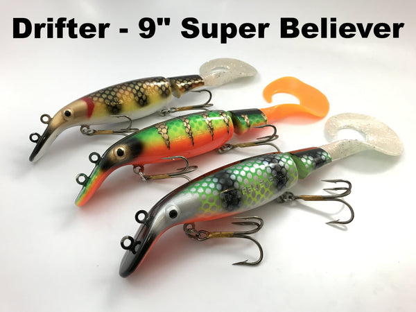"Drifter Tackle 9"" Super Believer"