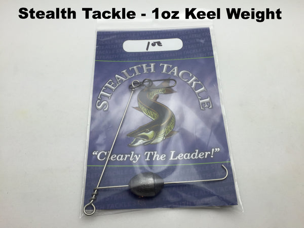 Stealth Tackle - 1oz Trolling Keel Weight (KW1)