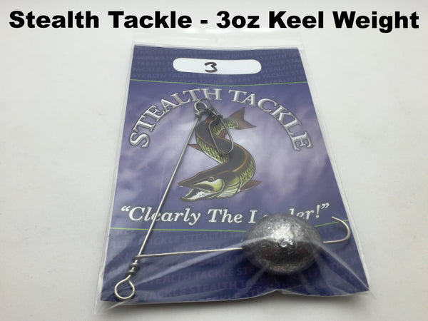 Stealth Tackle - 3oz Trolling Keel Weight (KW3)