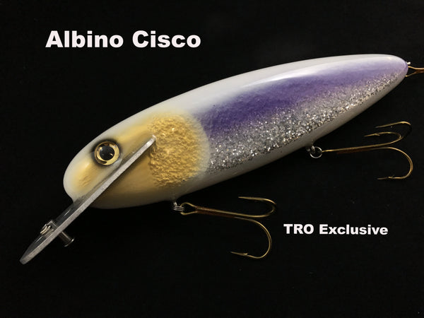 "Supernatural Big Baits 10"" Mattlock - Albino Cisco"