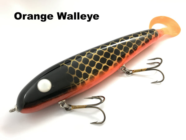 "Phantom Lures 10"" Phantom Soft Tail - Orange Walleye"