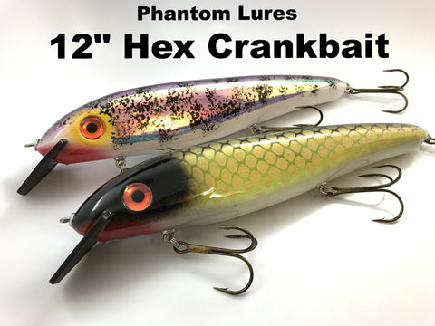 "Phantom Lures 12"" Hex"
