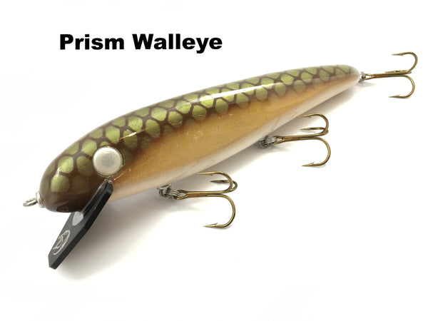 "Phantom Lures 10"" Hex - Prism Walleye"