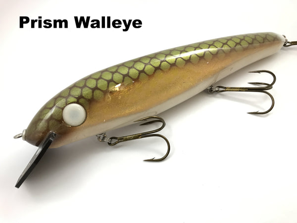"Phantom Lures 12"" Hex - Prism Walleye"