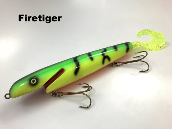 "Leo Lures 8"" Jerk Rubber Tail"