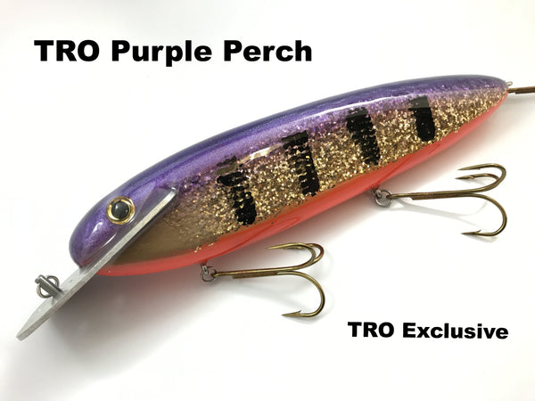 "Supernatural Big Baits 10"" Mattlock - TRO Purple Perch"