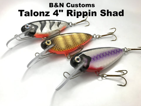 "B&N Customs Talonz 4"" Rippin Shad"