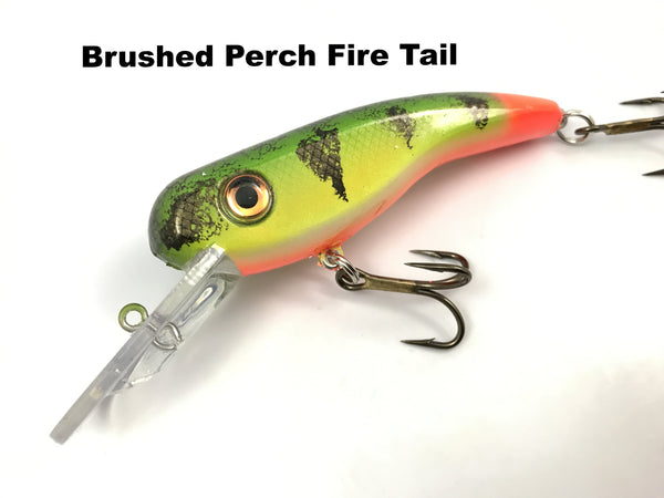Llungen Lures .22 Short - Brushed Perch Fire Tail