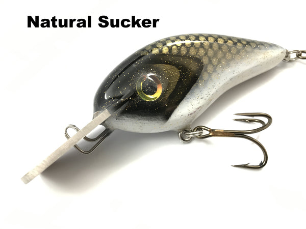 Llungen Lures Wood Chad Shad SQUARE Metal Lip