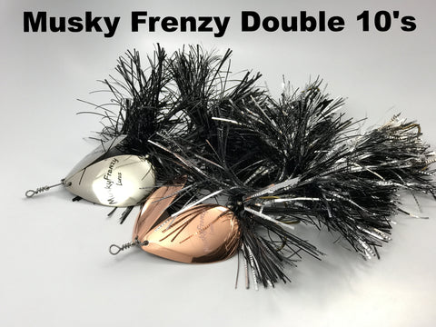 Musky Frenzy Lures Apache Double 10's