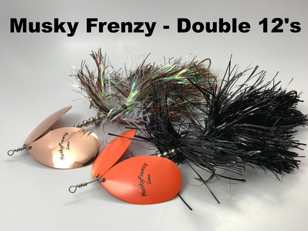 Musky Frenzy Lures Apache Double 12's