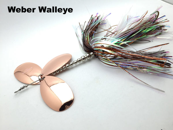 Musky Frenzy Lures - Custom Apache Triple 8's