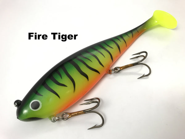 Musky Innovations Regular Swimmin' Dawg - Fire Tiger