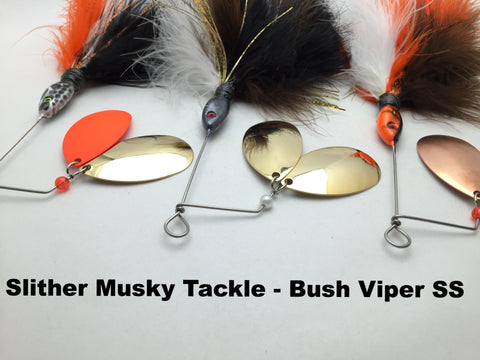 Slither Musky Tackle Bush Viper SS