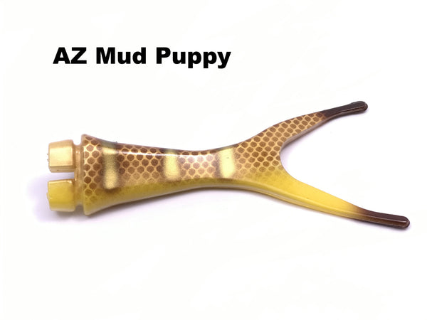 Musky Innovations Shallow Invader Replacement Tails - AZ Mud Puppy