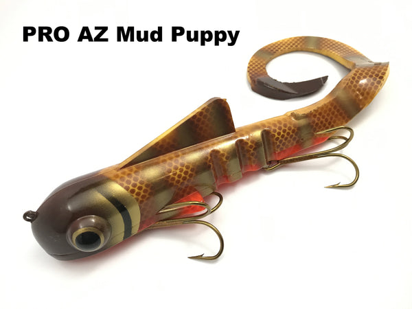 Musky Innovations PRO Pounder (Super Mag) Bull Dawg - PRO AZ Mud Puppy