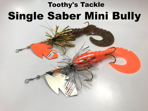 Toothy's Tackle Single Saber Mini Bully