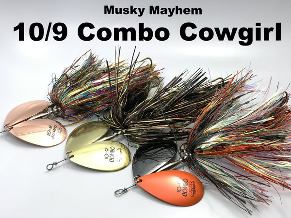 Musky Mayhem Tackle 10/9 Combo Cowgirl