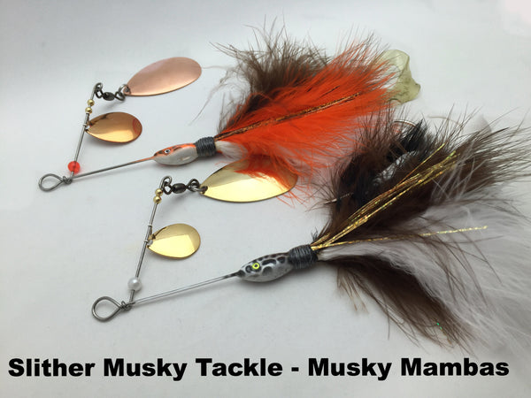 Slither Musky Tackle Musky Mambas