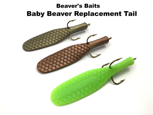 Beaver's Baits Baby Beaver Replacement Tail