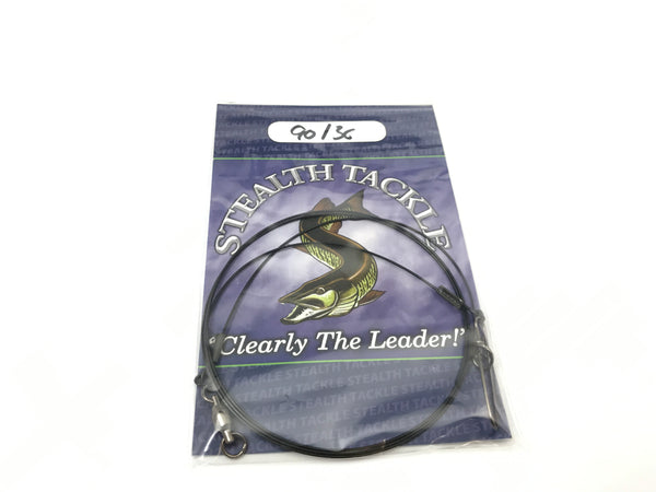 "Stealth Tackle - 90# Coated 7 Strand 36"" Trolling Leader 1 Pack (ST090C 36"")"