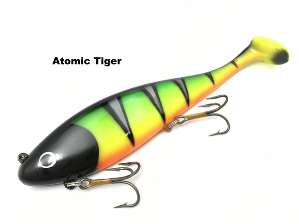 Musky Innovations Regular Swimmin' Dawg - Atomic Tiger