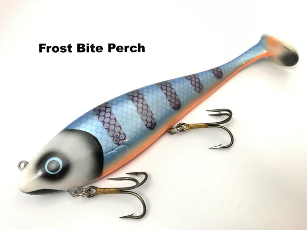 Musky Innovations Regular Swimmin' Dawg - Frost Bite Perch