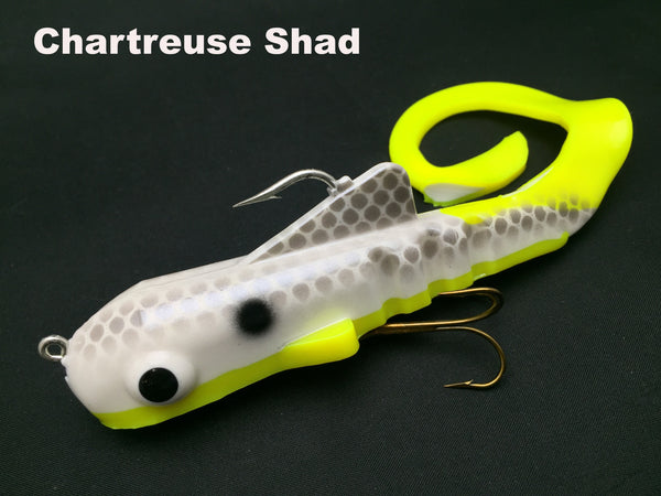 Musky Innovations Spring Dawg - Chartreuse Shad