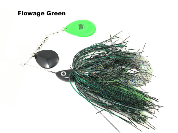 Llungen Lures Double Colorado Nutbuster Jr
