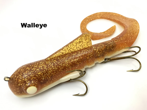 Musky Innovations Magnum Bull Dawg - Walleye