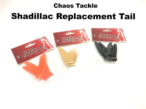 Chaos Tackle Shadillac Replacement Tail (2 pack)