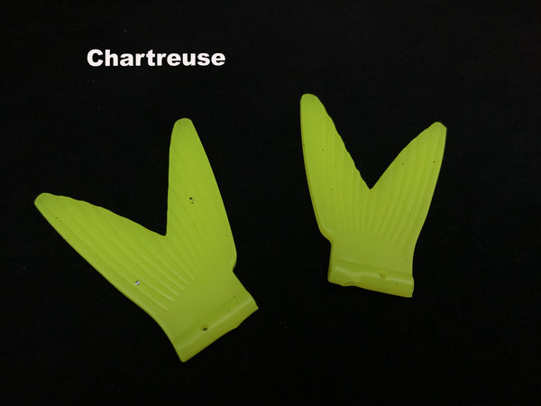 Chaos Tackle Shadillac Replacement Tail - Chartreuse