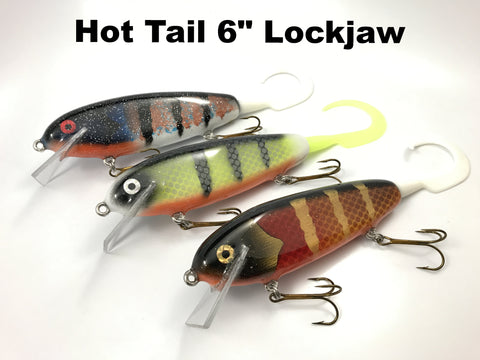 "Hot Tail Gliders 6"" Lockjaw"