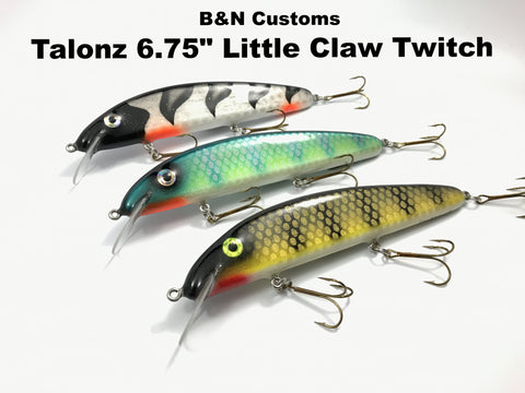 "B&N Customs Talonz 6.75"" Little Claw Twitch"