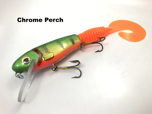 H2O Tackle Cranky Nitro Halftail