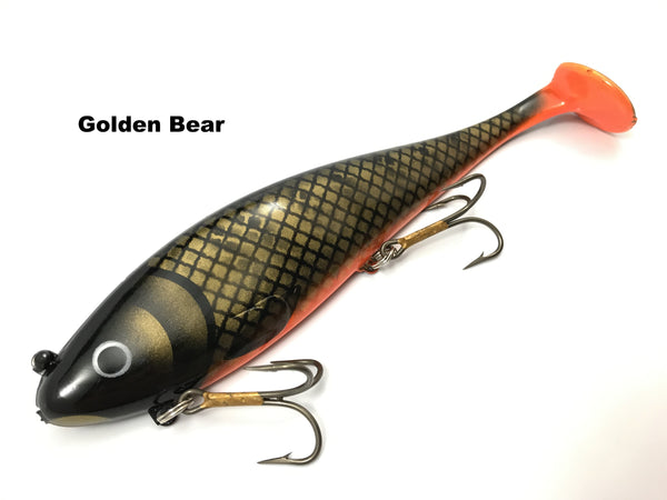Musky Innovations Regular Swimmin' Dawg - Golden Bear
