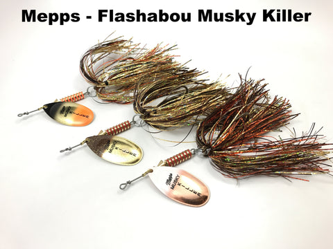 Mepps Flashabou Musky Killer