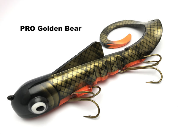 Musky Innovations PRO Mag Dawgs - PRO Golden Bear