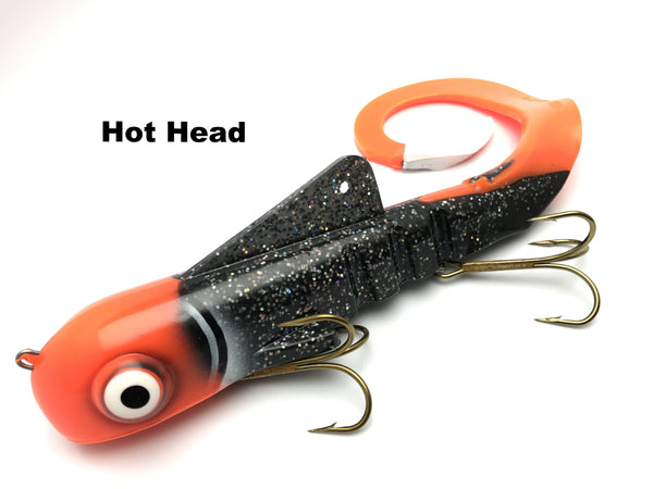 Musky Innovations Shallow Regular Bull Dawg - Hot Head