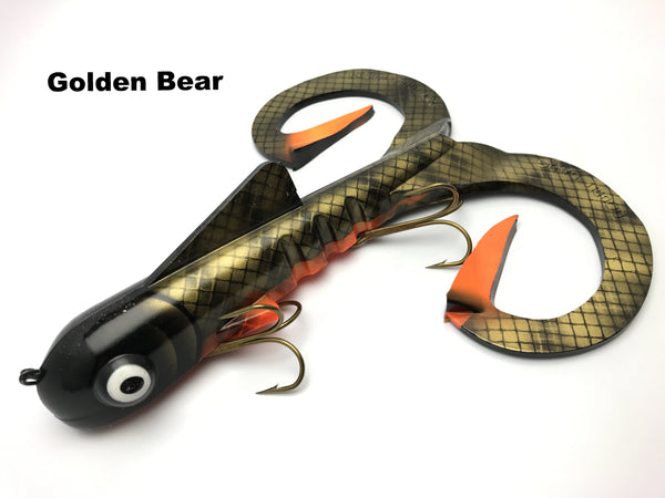 Musky Innovations Magnum Double Dawg - Golden Bear